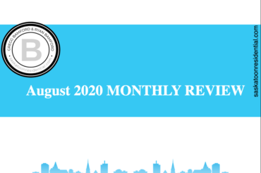 AUGUST 2020 MONTHLY REAL ESTATE IN REVIEW
