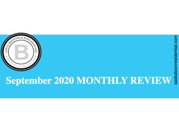 SEPTEMBER 2020 MONTHLY REAL ESTATE IN REVIEW