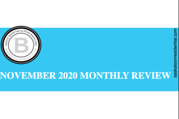 NOVEMBER 2020 MONTHLY REAL ESTATE IN REVIEW